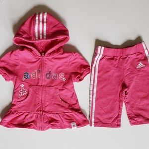 Adidas Baby Girl Outfit